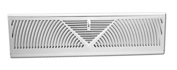 "Picture of BASEBOARD WALL DIFFUSER WHITE - FOR 18"" OPENING - GRILL"