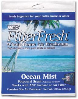 FILTER FRESH FILTER SCENTS - OCEAN MIST