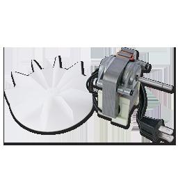 Chadwell Supply Bath Fan Motor With Plug 65216 99080216
