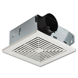BROAN® SNAP-IN CEILING/WALL EXHAUST FAN ASSEMBLY
