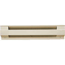 "Picture of 48"" BASEBOARD HEATER - ALMOND"