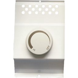 Picture of DOUBLE POLE BASEBOARD HEATER THERMOSTAT - WHITE