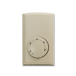 Picture of CADET LINE VOLTAGE THERMOSTAT 22A SINGLE POLE - ALMOND