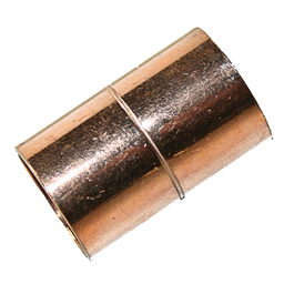 "Picture of 5/8""OD (1/2""ID) COPPER COUPLING"