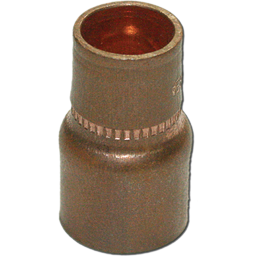 "Picture of 3/4""OD X 5/8""OD (5/8""ID X 1/2""ID) REDUCER COPPER COUPLING"