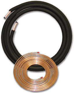 "Picture of 3/8""OD & 3/4""OD  X 25' LINE SET WITH 3/8"" INSULATION"
