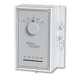 Picture of WHITE RODGERS VERTICAL THERMOSTAT - 1E56N444 - NON-MERCURY