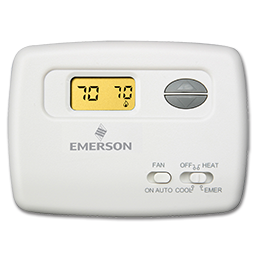 Picture of WHITE RODGERS HEAT PUMP THERMOSTAT