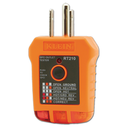 Picture of RT210 KLEIN GFCI CIRCUIT TESTER