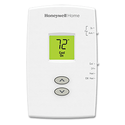Picture of HONEYWELL HEAT PUMP THERMOSTAT - TH1210DV1007