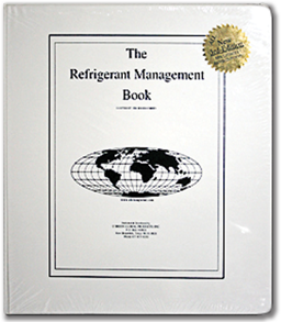 Picture of REFRIGERANT MANAGEMENT BOOK - RM1111