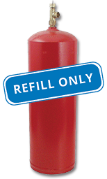 Picture of B-E ACETYLENE REFILL LG CYLINDER
