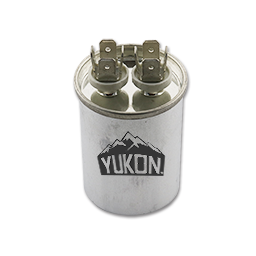 Picture of 25 MFD 440V ROUND CAPACITOR