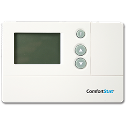 Picture of COMFORTSTAT DIGITAL NON-PROGRAMMABLE HEAT PUMP THERMOSTAT