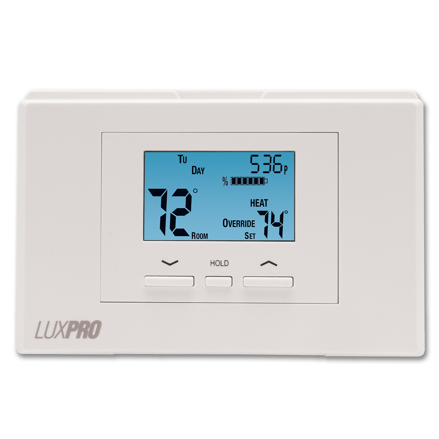 Chadwell Supply Lux Digital 5 2 Day Programmable Heat Pump Thermostat
