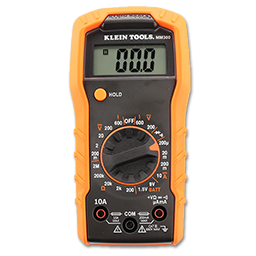 Picture of KLEIN® 600V AC/DC 10A AC AUTO RANGING DIGITAL MULTIMETER