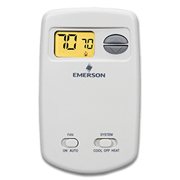 Picture of WHITE RODGERS DIGITAL VERTICAL HEAT/COOL THERMOSTAT