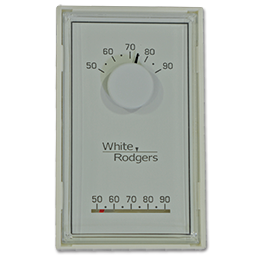 Picture of WHITE RODGERS 24V HEAT ONLY THERMOSTAT - 1E30N-910
