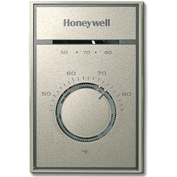 Picture of HONEYWELL LINE VOLTAGE THERMOSTAT - T651A3018
