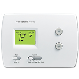 Picture of HONEYWELL PRO 3000 DIGITAL HEAT PUMP THERMOSTAT