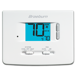 Picture of BRAEBURN DIGITAL NON-PROGRAMMABLE THERMOSTAT 1020NC