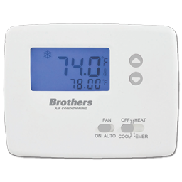 Picture of BROTHERS H/P NON-PROGRAMMABLE THERMOSTAT