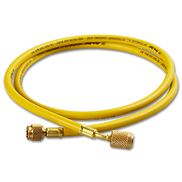 Picture of 5' YELLOW HIGH PRESSURE HOSE WITH ANTI-BLOWBACK FITTINGS