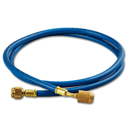 Picture of 5' BLUE HIGH PRESSURE HOSE WITH ANTI-BLOWBACK FITTINGS