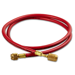 Picture of 5' RED HIGH PRESSURE HOSE WITH ANTI-BLOWBACK FITTINGS