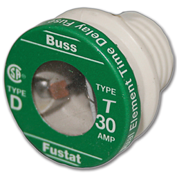 Picture of 30AMP TIME LAG PLUG FUSE