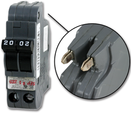 Picture of FEDERAL-STYLE 2P 30A SLIMLINE BREAKER - UBIF0230N
