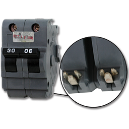 Picture of FEDERAL-STYLE 2P 30AMP STANDARD BREAKER