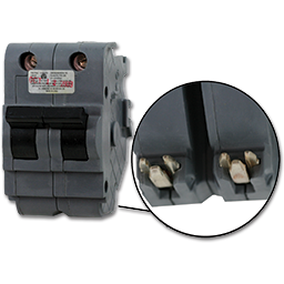 Picture of FEDERAL-STYLE 2P 50A STANDARD BREAKER - UBIF250N