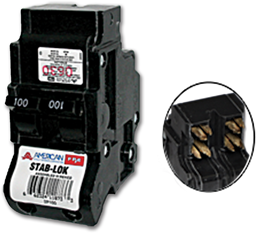 Picture of FEDERAL PACIFIC 2P 100A BREAKER - NA100