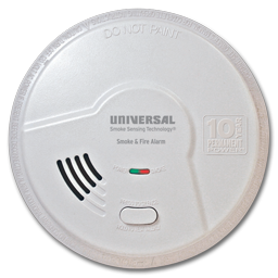 Picture of USI 2 IN 1 SMOKE AND FIRE SMART ALARM W/10 YEAR SEALED BATTERY