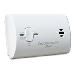 Picture of KIDDE CARBON MONOXIDE DETECTOR - USES 3-AA BATTERIES