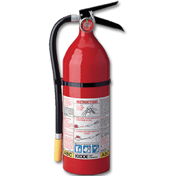 Picture of 5LB FIRE EXTINGUISHER NON-CERTIFIED - 3-A:40-B:C - ALUM CYL/ALUM HEAD - RECHARGEABLE