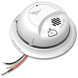 Picture of BRK 120V SMOKE ALARM WITH LOCKED BATTERY BACKUP
