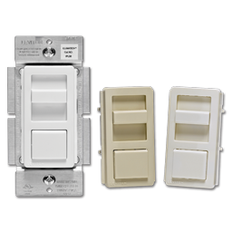 Picture of LEVITON SLIDER LED DIMMER SWITCH - WHITE