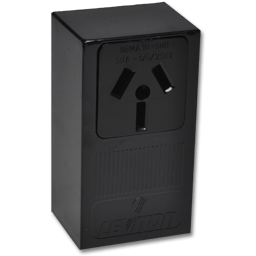 50AMP RANGE RECEPTACLE SURFACE MOUNT 3 WIRE