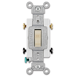 Picture of 20AMP DOUBLE POLE A/C SWITCH - IVORY