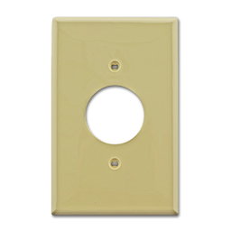 Picture of MIDI ROUND A/C OUTLET PLATE - IVORY