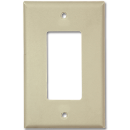 Picture of MIDI DECORA SWITCH PLATE - IVORY