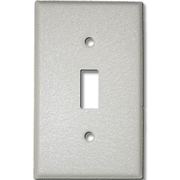 Picture of METAL SWITCH PLATE WRINKLE FINISH - IVORY