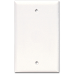 Picture of JUMBO BLANK WALL PLATE - WHITE