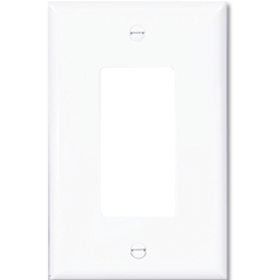 Picture of STANDARD DECORA SWITCH PLATE - WHITE