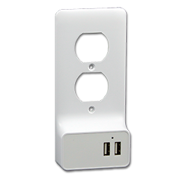 Picture of USB CHARGER OUTLET CONVERSION WALL PLATE - DUPLEX
