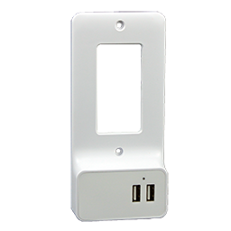 Picture of USB CHARGER OUTLET CONVERSION WALL PLATE - DECORA