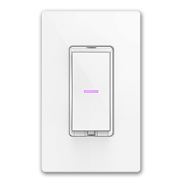 IDEVICES WI-FI ENABLED ROCKER DIMMER SWITCH - WHITE