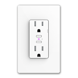 IDEVICES WI-FI ENABLED WALL OUTLET - WHITE